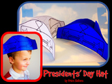 Presidents' Day Craft {Presidents Day Hat Printable}