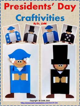Presidents' Day Craftivities: George Washington and Abraha
