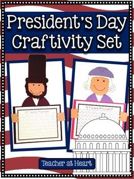 President's Day Craftivity Set