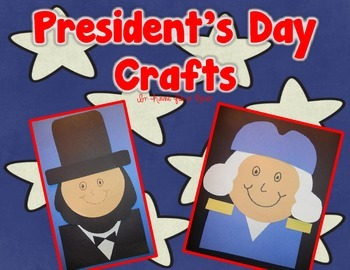 President's Day Crafts - Washington and Lincoln