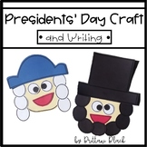 Presidents' Day Craft and Writing