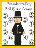 President's  Day/ Día Del Presidente Roll and Cover Games