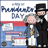 Presidents Day Activities: Digital Reading Comprehension