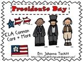 Presidents Day {ELA Common Core + MORE}