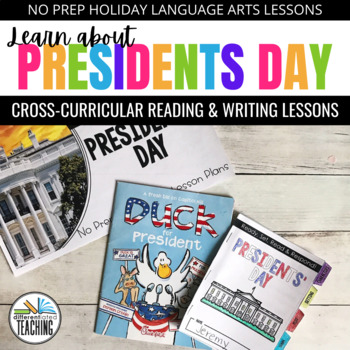 Presidents' Day ELA Lesson Plans: Ready-to-use Presidents Day activities