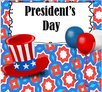 President's Day Vocabulary Activities
