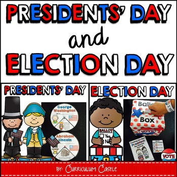 Presidents' Day & Election Day {Voting} BUNDLE
