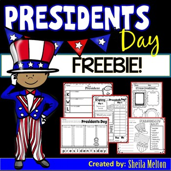 Presidents Day FREEBIE!