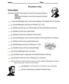 Fact And Opinion Worksheets Teaching Resources | Teachers Pay Teachers