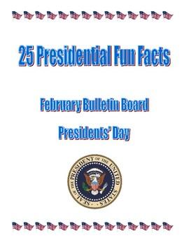 Presidents' Day February Bulletin Board