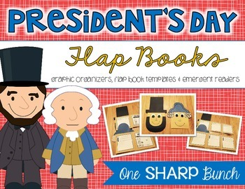 President's Day Flap Book {Graphic Organizers, Templates &