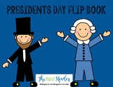 Presidents Day Flip Book George Washington Abraham Lincoln
