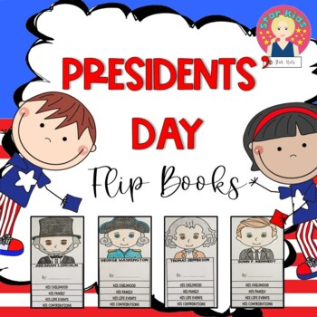 Presidents Day Flip Books