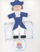 Presidents Day Flip Figures ( George Washington/ Abraham Lincoln )