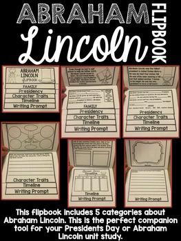 Presidents Day Flipbook Bundle - Washington and Lincoln