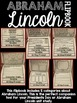 Presidents Day Flipbook Bundle - Washington and Lincoln