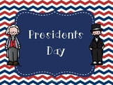 Presidents Day Flipbook and Activities