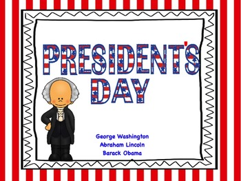 President's Day: Flipchart and Worksheets