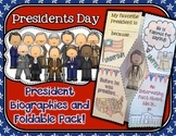 Presidents Day Foldable Activity Pack
