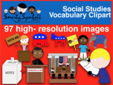 Social Studies Clipart Set {FREEBIE} - Great for President's Day & 4th of July