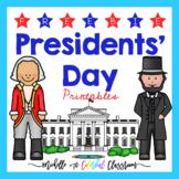 Presidents' Day Free Printables