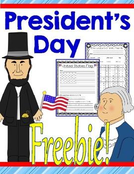 Presidents' Day Freebie