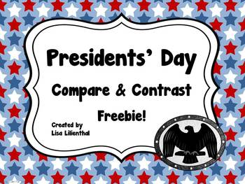 Presidents' Day Freebie ~ Compare & Contrast