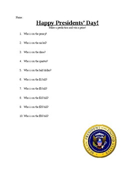 Presidents' Day Fun!