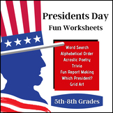 Presidents Day Fun! (5th-12th)
