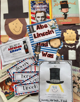 President's Day  George Washington and Abe Lincoln Guided Reading with a Purpose