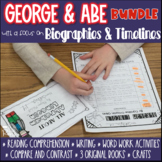 President's Day  George Washington and Abe Lincoln | Distance Learning