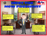 Presidents' Day Fun (Grades 1st - 4th) Digital/Google Classroom/Smart Board