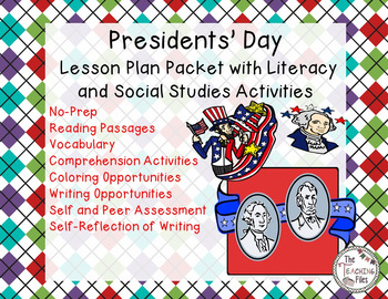 Presidents' Day Fun with Literacy and Social Studies Activities/