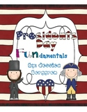 Presidents Day Fundamentals {Math and Literacy Activities}