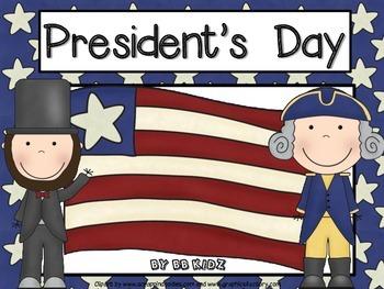 President's Day / George Washington / Abraham Lincoln / Math / Language