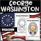 Presidents' Day {George Washington} Emergent Reader for Kindergarten