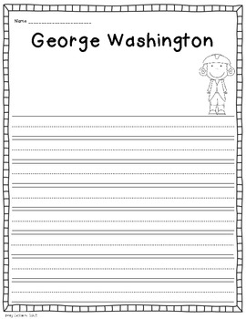 Presidents' Day: George Washington {Freebie!}