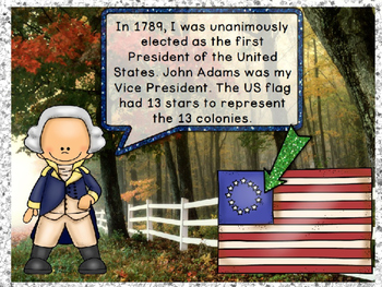Presidents' Day George Washington PowerPoint