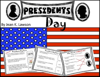Presidents' Day Facts Interactive Book