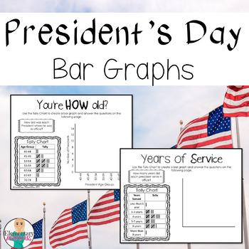 President's Day Bar Graphs