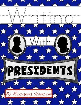President's Day Handwriting Printables!