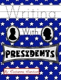 President's Day Handwriting Printables!