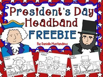 President's Day Headband Freebie