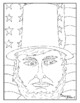 Presidents Day Holiday Visual Arts Coloring Pages Highly Detailed