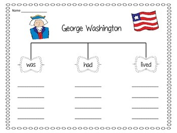 Presidents Day - If I Were President Writing & Washington and Lincoln Activities