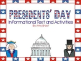Presidents' Day Informational Text and Activities