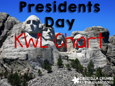 Presidents Day Informational Writing Template KWL Chart Gr