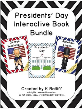 Presidents' Day:  Interactive Book Bundle