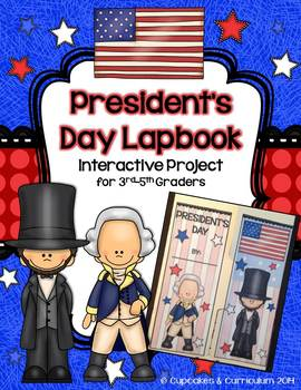 President's Day Interactive Lapbook Project {3rd-5th Grade}