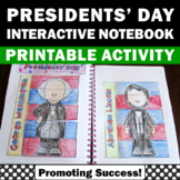 Presidents Day Foldable Interactive Notebook Abraham Linco